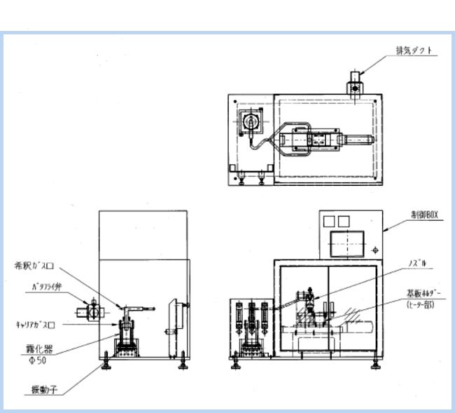 ミストCVD装置の図面例